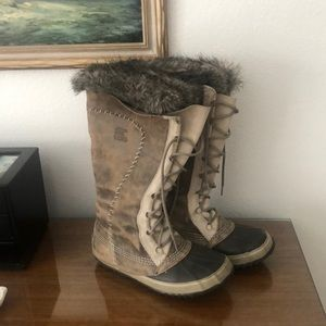 Sorel Cate the Great Boots Sz 9